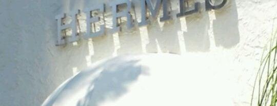 Hermès is one of Palm beach island spots.