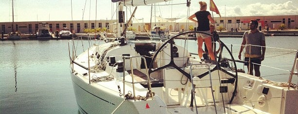 Valencia Yacht Base Real Club Nautico is one of Spain +.