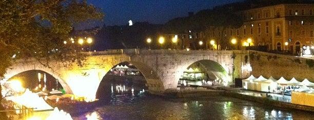 Ponte Palatino is one of Rome / Roma.