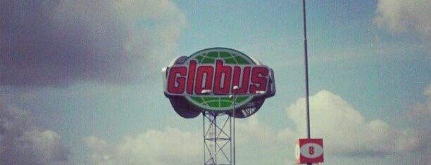 Globus Hypermarket is one of Ivan 님이 좋아한 장소.
