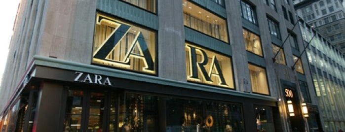 Zara is one of New York.