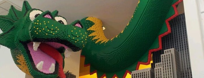 The LEGO Store is one of New York.