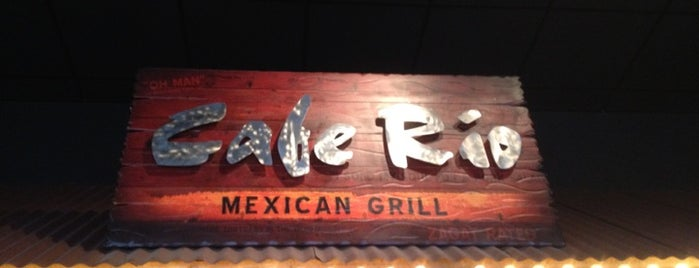 Cafe Rio is one of LB2DO.