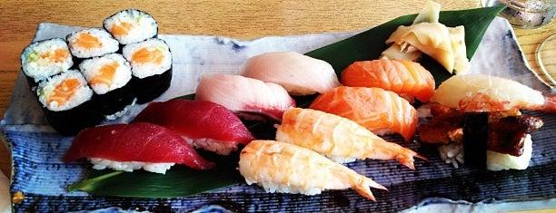 Hatsuhana is one of 寿司.