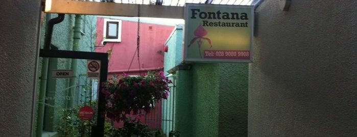 Fontana is one of Michelin Bib Gourmands in Northern Ireland.