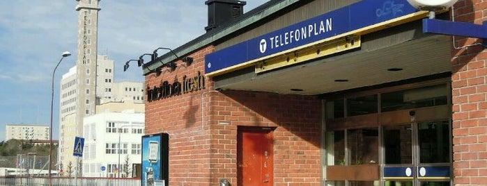 Telefonplan is one of Sweden & Stockholm.