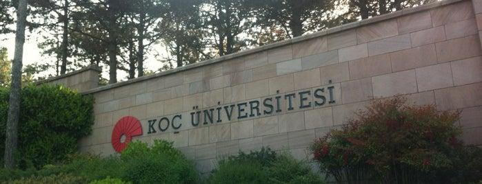 Koç Üniversitesi is one of İstanbul'daki Üniversite ve MYO'ların Kampüsleri.