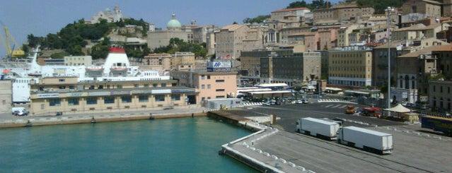 Porto di Ancona is one of Tempat yang Disukai Michele.