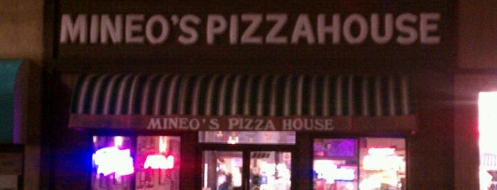 Mineo's Pizza is one of PGH.