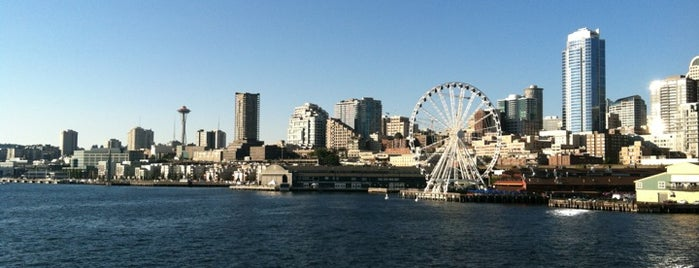 Bainbridge Island Ferry is one of Looking @ Skylines.