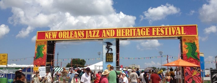 New Orleans Jazz & Heritage Festival is one of Must-visit Cafés in New Orleans.