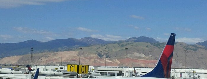 Salt Lake City International Airport (SLC) is one of AIRPORT.