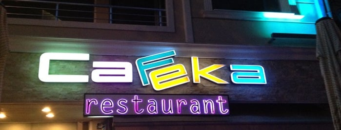 Cafeka Restaurant & Cafe is one of Volkan : понравившиеся места.