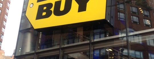 Best Buy is one of NYC.