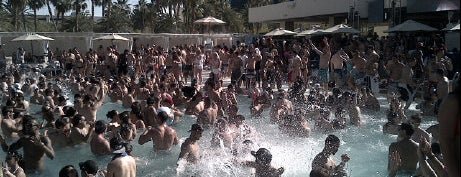 Wet Republic Ultra Pool is one of Bachelorette Party.