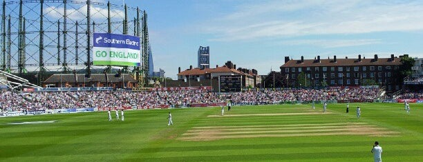 The Oval is one of London.