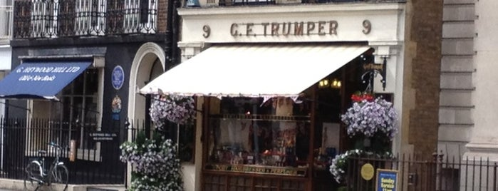 Geo. F. Trumper is one of London for P' Arenui.