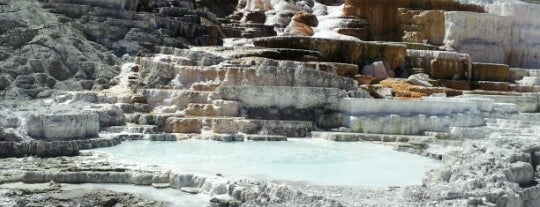 Mammoth Hot Springs is one of Rockies trip.