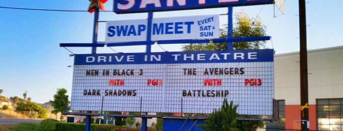 Santee Drive In Theater is one of TAKE ME TO THE DRIVE-IN, BABY.