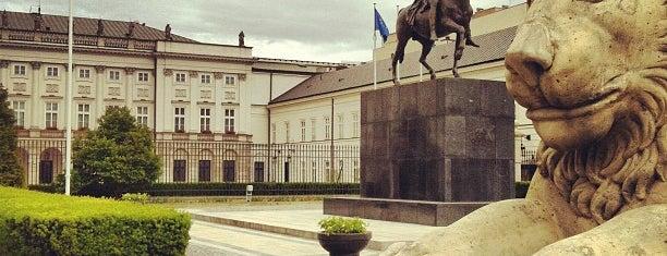 Pałac Prezydencki is one of Varşova.