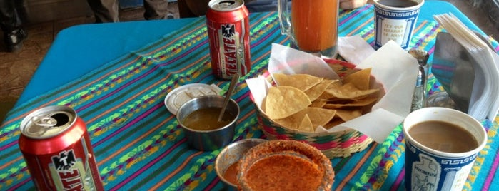 Taqueria el Fogon is one of by necessity, not necessarily by choice (1 of 2).