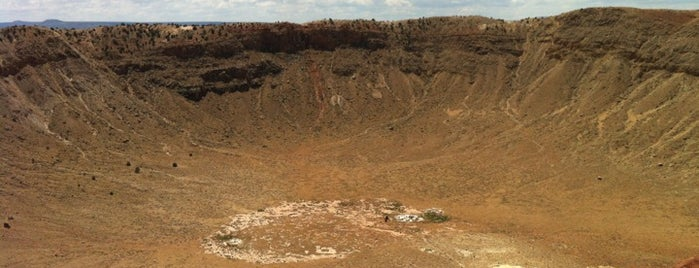 Meteor Crater is one of Arizona.