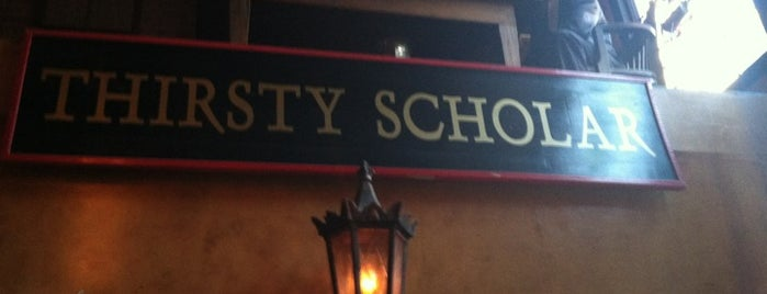 Thirsty Scholar is one of East Village Bucket List.