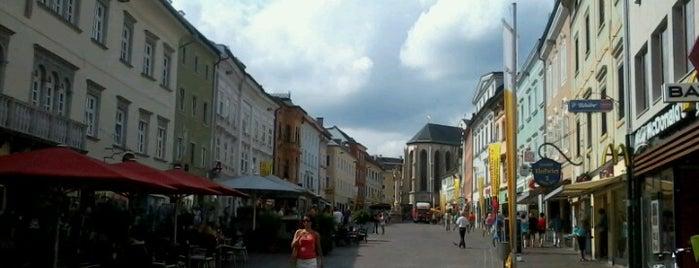Hauptplatz Villach is one of Orte, die Fabio gefallen.