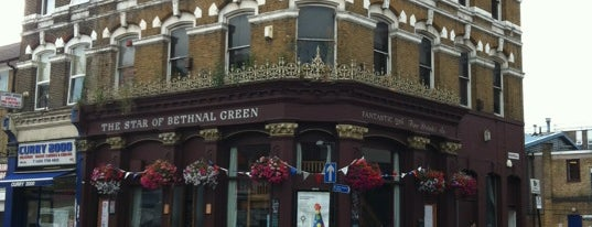 Star of Bethnal Green is one of Tempat yang Disimpan Giacomo.