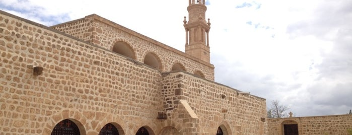Mor Abrohom Manastırı is one of Midyat.