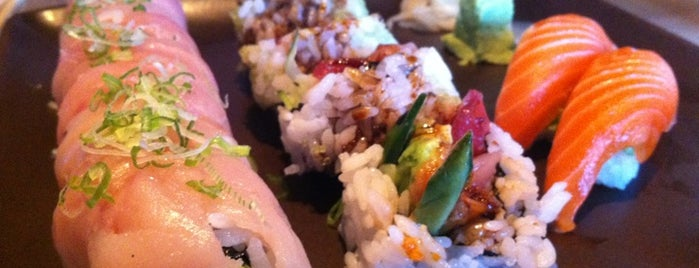 Ace Wasabi's Rock-N-Roll Sushi is one of SF Sushi.