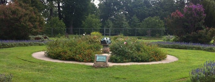 John Cook Memorial Rose Garden & Sundial is one of Historic Sites - Museums - Monuments - Sculptures.