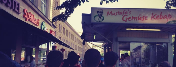 Mustafa's Gemüse Kebap is one of Berlin.