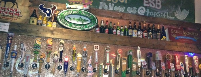Taps House of Beer is one of HOU via John Dwan.