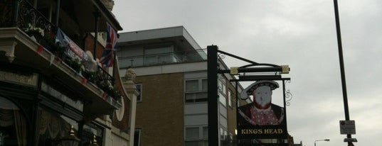 The Kings Head is one of Carl'ın Beğendiği Mekanlar.