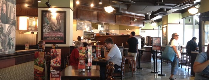 Corner Bakery Cafe is one of Best in Chicago Dining.