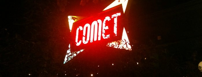 Comet Ping Pong is one of Lieux qui ont plu à IS.