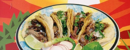 Ricos Tacos is one of The 9 Best Taco Joints In NYC.