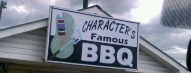 Character's Famous B-B-Q is one of BBQ Joints.