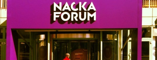 Nacka Forum is one of Sweden.