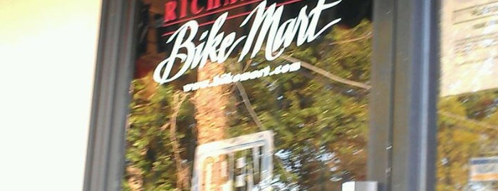 Richardson Bike Mart is one of Tempat yang Disukai Tammy.