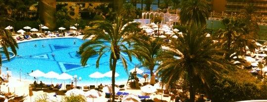 Mediterranean Palace Hotel Tenerife is one of Tempat yang Disukai LEIRE.