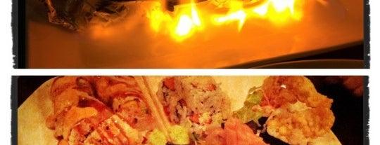 Tani Sushi Bistro is one of สถานที่ที่ Samantha ถูกใจ.