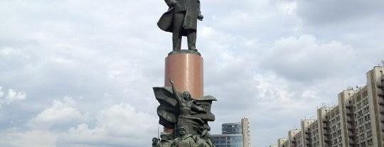 Калужская площадь is one of Orte, die Yunus gefallen.