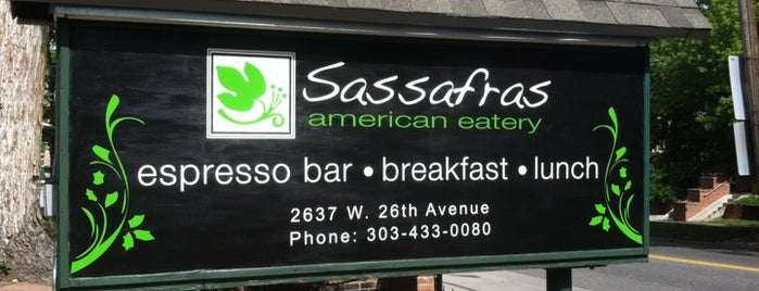 Sassafras American Eatery is one of Try These.