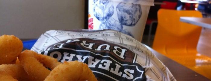 Burger King is one of Orte, die Jessica gefallen.