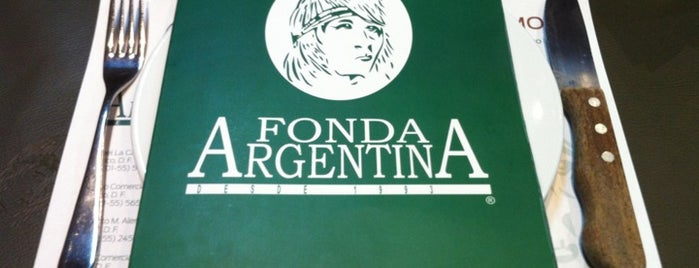 Fonda Argentina is one of DF Dining.