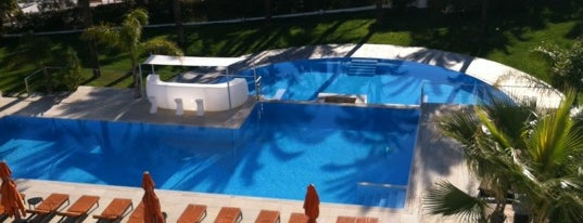 Aguas de Ibiza Lifestyle & Spa Hotel is one of 9aq3obeyaさんのお気に入りスポット.