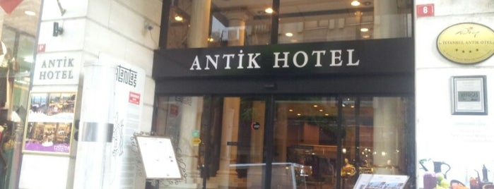 Antik Hotel is one of Посетить.