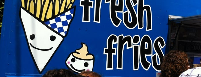 Fresh Fries Truck is one of spot.